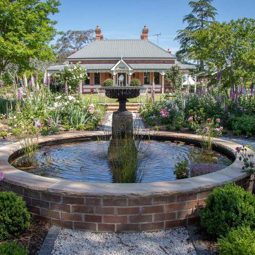 Ashfield Grey by Lincoln Brickworks in Federation garden water feature