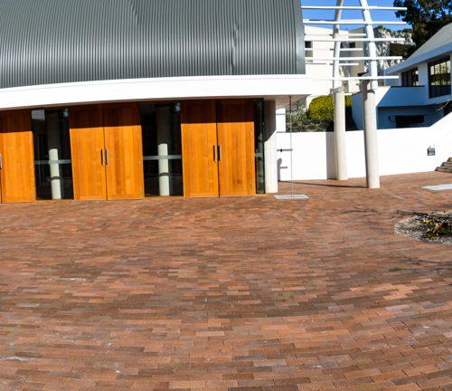 Samoan Embassy Camberra - Lincoln Brickworks Bakers Ebony Paver