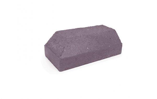 Shaped brick - Plinth external return