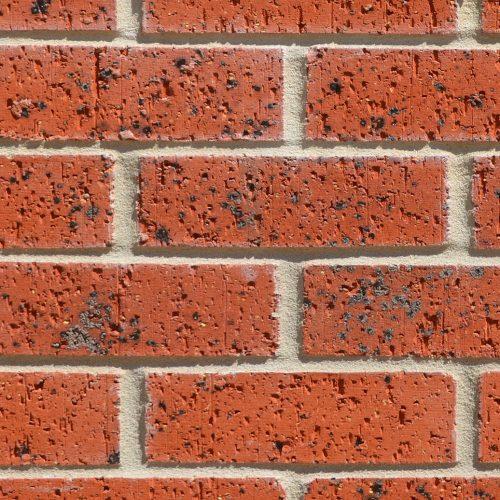 Red Velour Lincoln Bricks