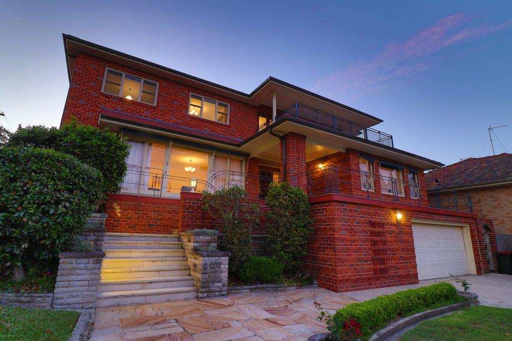 Mid Century Red Texture Brick