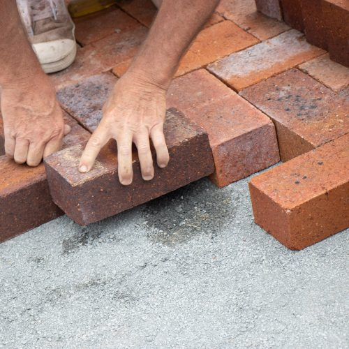 Dry Pressed Common Bricks used for Paving