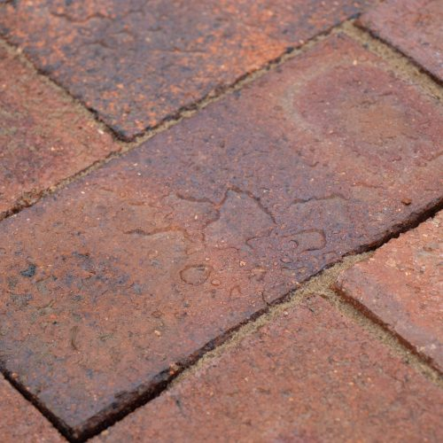 Dry Pressed Commons used as paving